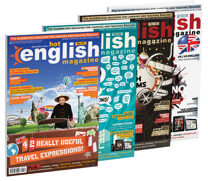 Revista Hot English para aprender ingles