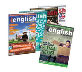 selección de revistas