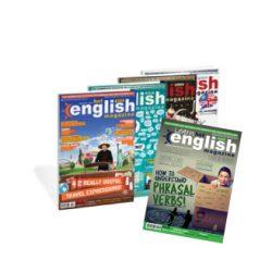 Revista mensual en inglés